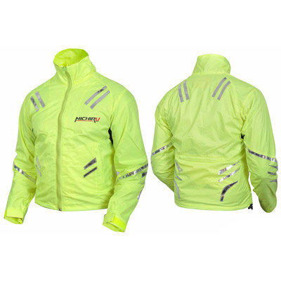 Мотокуртка MICHIRU Safety Jacket Лимонный