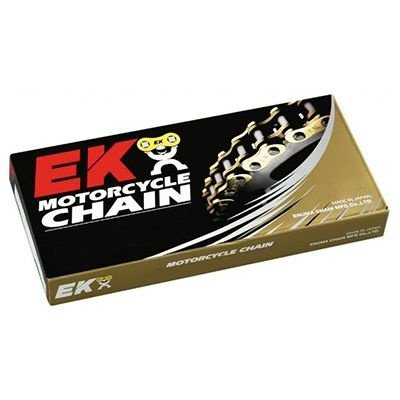 Мотоцепь EK chains с замком-защелкой 530 MVXZ-110/N  EK CUT CHAIN W/MLJ GREEN