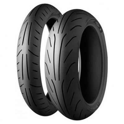 130/60 - 13 M/C 60P REINF POWER PURE SC F/R TL MICHELIN